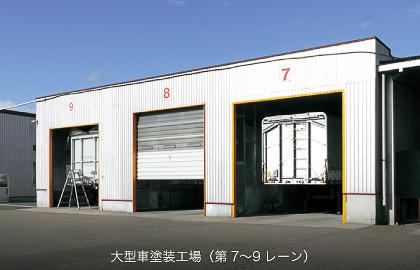 大型車塗装工場